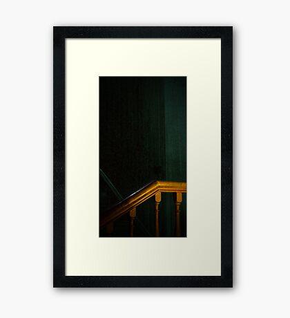 Bannister Framed Print