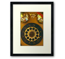 Is This Broadband - Or Dial-Up? Framed Print