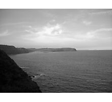 Far From the Other Side (Black and White) Photographic Print