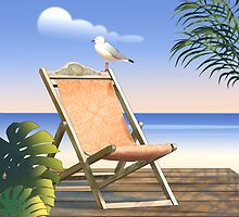 deckchair by Ann Nightingale