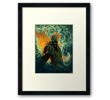 Echoes of Oblivion Framed Print