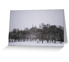 Greenwich Park and Observatory Greeting Card