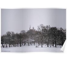 Greenwich Park and Observatory Poster