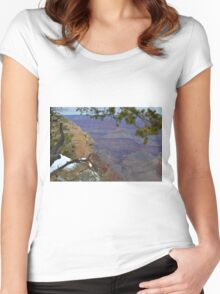 Grand Canyon 14  Women's Fitted Scoop T-Shirt
