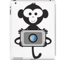 funny t-shirt Monkey Photo iPad Case/Skin