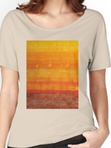 Earth & Sky original painting Women's Relaxed Fit T-Shirt