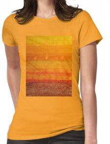 Earth & Sky original painting Womens Fitted T-Shirt