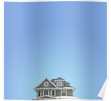 Gray Home Poster