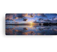 Nudgee Beach sunrise Canvas Print