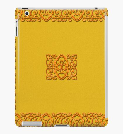 Orange on Orange is the new black iPad Case/Skin
