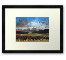 Glen Spean Framed Print
