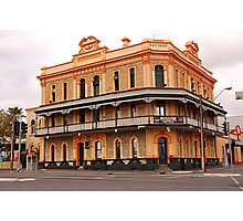 Newmarket Hotel, Adelaide. S.A Photographic Print