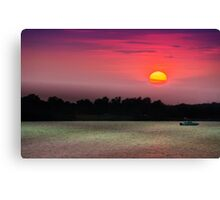 Big Red One Canvas Print
