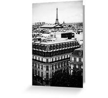 Paris Skyline Greeting Card