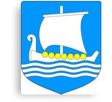 Saaremaa Coat of Arms Canvas Print