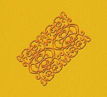 Clockwork Orange on Orange by IvieLeagueJots