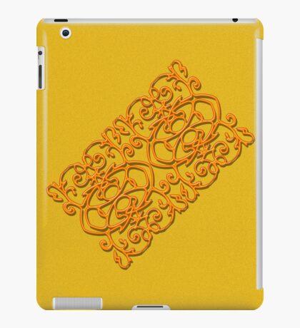 Clockwork Orange on Orange iPad Case/Skin
