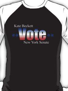 Kate Beckett for NY state Senate T-Shirt