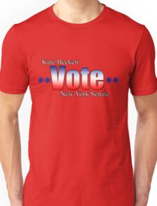 Kate Beckett for NY state Senate Unisex T-Shirt