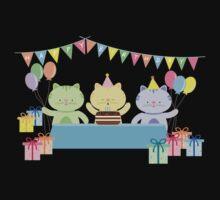 Happy Cat Birthday! Kids Clothes