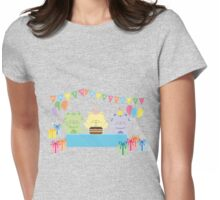 Happy Cat Birthday! Womens Fitted T-Shirt