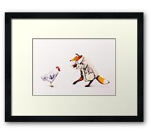 Sprung!  Framed Print