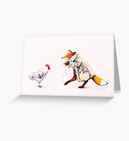 Sprung!  Greeting Card