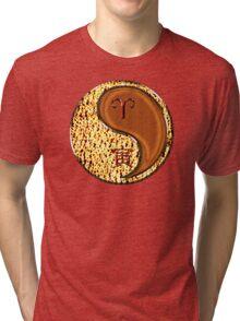 Aries & Tiger Yang Wood Tri-blend T-Shirt