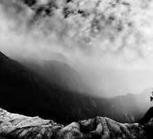Fox Glacier Valley by Wanagi Zable-Andrews