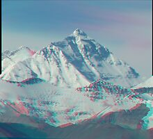Mt. Everest 3D by Andreas Altmann