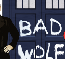 Doctor Who - Bad Wolf Sticker