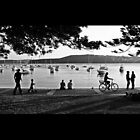 Sunday Afternoon at Manly Cove by Keiran Lusk