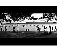 Sunday Afternoon at Manly Cove Photographic Print