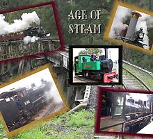 Age Of Steam..Collage by glennmp