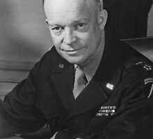 General Dwight Eisenhower by warishellstore