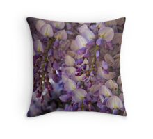 Purple Heaven Throw Pillow