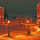 Piazza Campodoglio at midnight, Rome, Italy by Trine