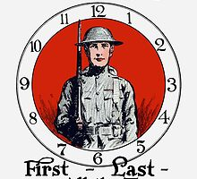 First - Last - And All The Time -- WW1 by warishellstore