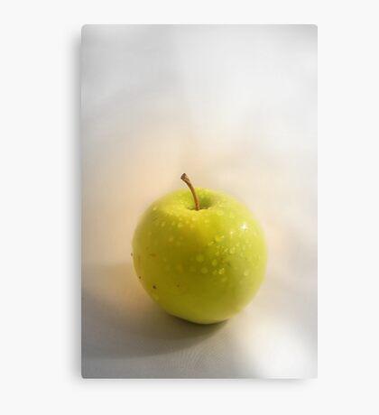 apple Metal Print