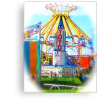 YoYo Carnival Ride Canvas Print