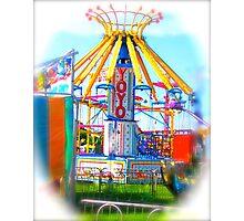 YoYo Carnival Ride Photographic Print