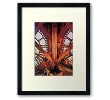 Quality Time Framed Print