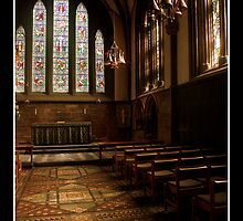 Chester Cathedral Interior VI by Emma Wright