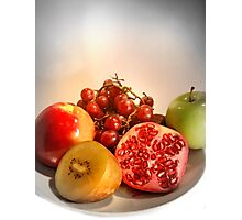 Organic Fruits - Healthy Choice Photographic Print