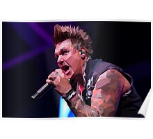 Jacoby Shaddix Low Poly Poster
