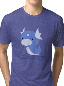 Dratini Kawaii Tri-blend T-Shirt