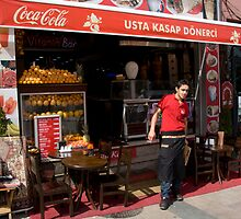 Coke Salesman by phil decocco