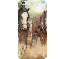 Heavy Horses iPhone Case/Skin