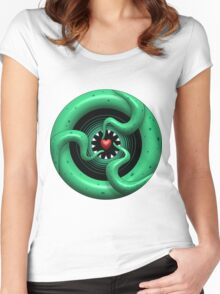 Cthulhu Heart Women's Fitted Scoop T-Shirt