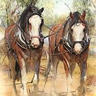 Heavy Horses by Trudi's Images